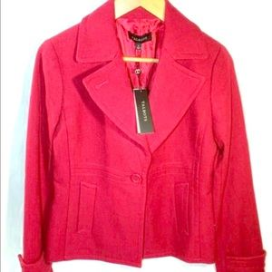 NWT Talbots Ruby Red Color Blazer size 4